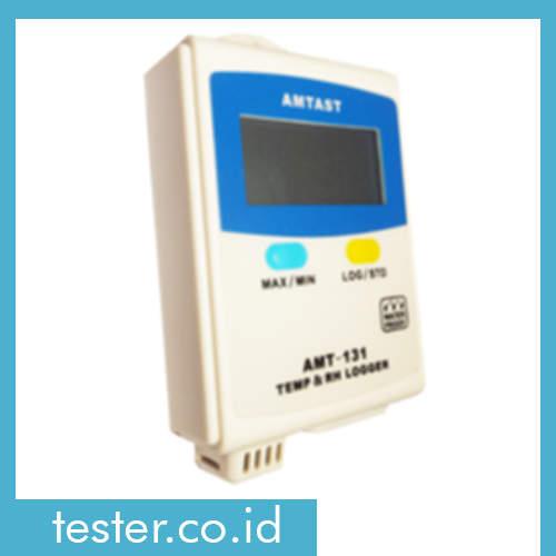 Temperatur Suhu dan Kelembaban Data Logger AMT-131