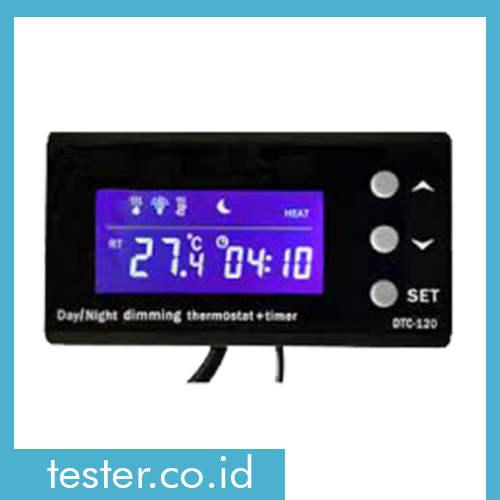 Termostat Dan Timer Akuarium AMTAST TC-100