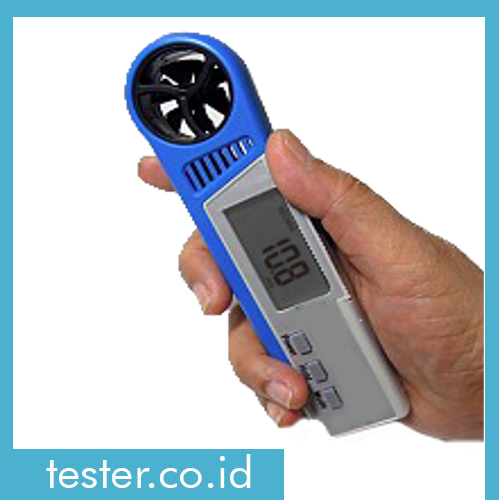 Alat Ukur 3 in 1 Digital Anemometer with Thermo Hygro AMF025