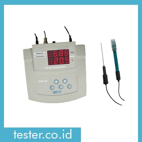 Bench pH/Temp Meter AMTAST PHs-3c