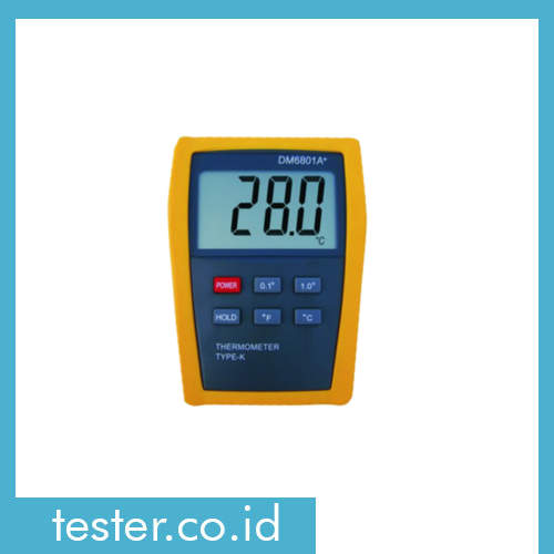 Digital Thermometer DM6801A+