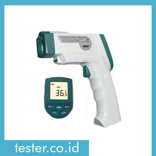 IR Thermometer Tubuh & Permukaan Industri IR-880F