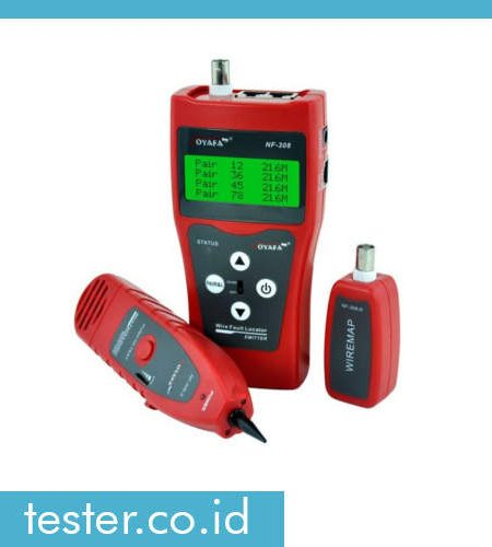 Multi Fungsi Cable Tracker & Tester NF308