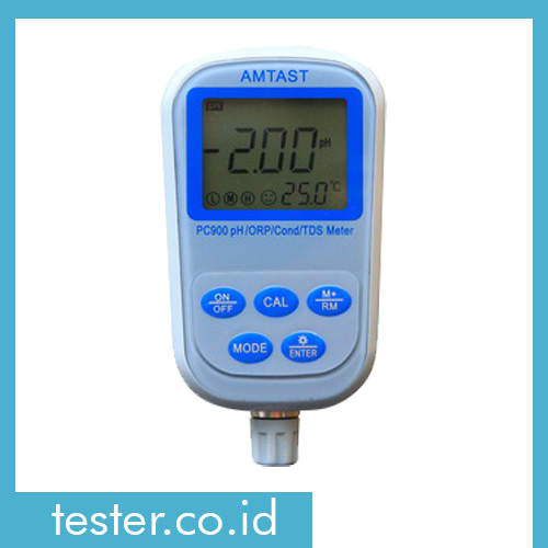 Alat Ukur 7 IN 1 Professional pH/ORP/Konduktivitas/TDS/Kegaraman/Temperatur Meter PC900