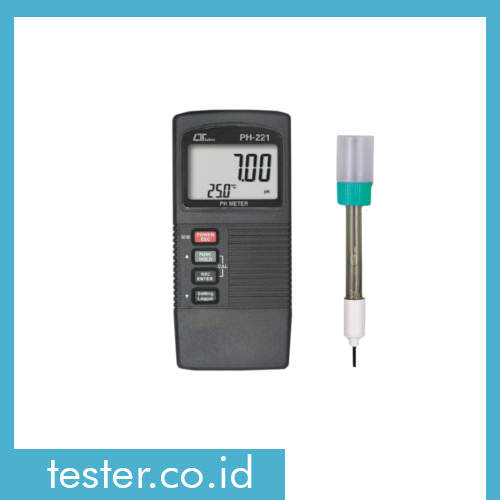 Portable pH/mV/Temp Meter PH-221