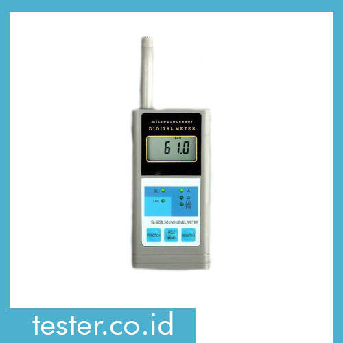 Alat Uji Intensitas Kebisingan Suara SL-5858