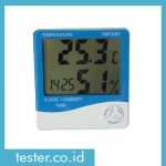 Thermometer Hygro and Clock TH90