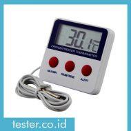 Termometer In-Outdoor dan Alarm AMT227A