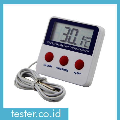 Termometer In-Outdoor dan Alarm AMT227A
