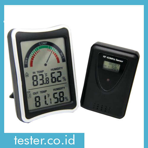 Thermo-Hygrometer Teknologi Wireless AMT229